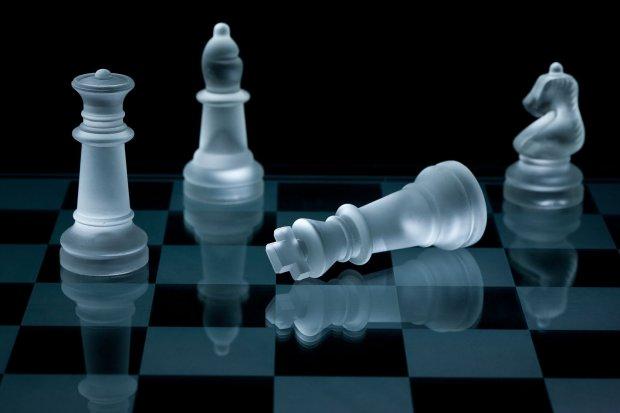 Chess fallen