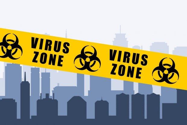 Virus zone city