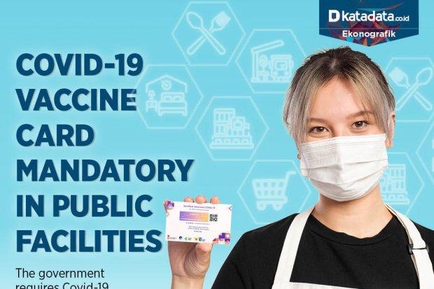 Covid-19 Vaccine Card Mandatory in Public Facilities