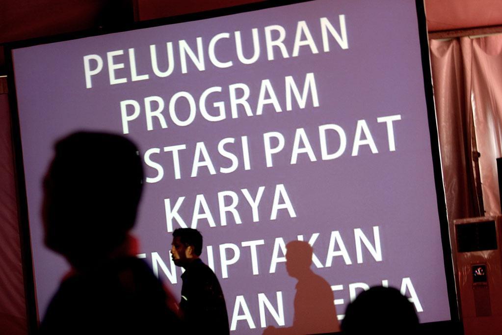 Suasana peluncuran program \