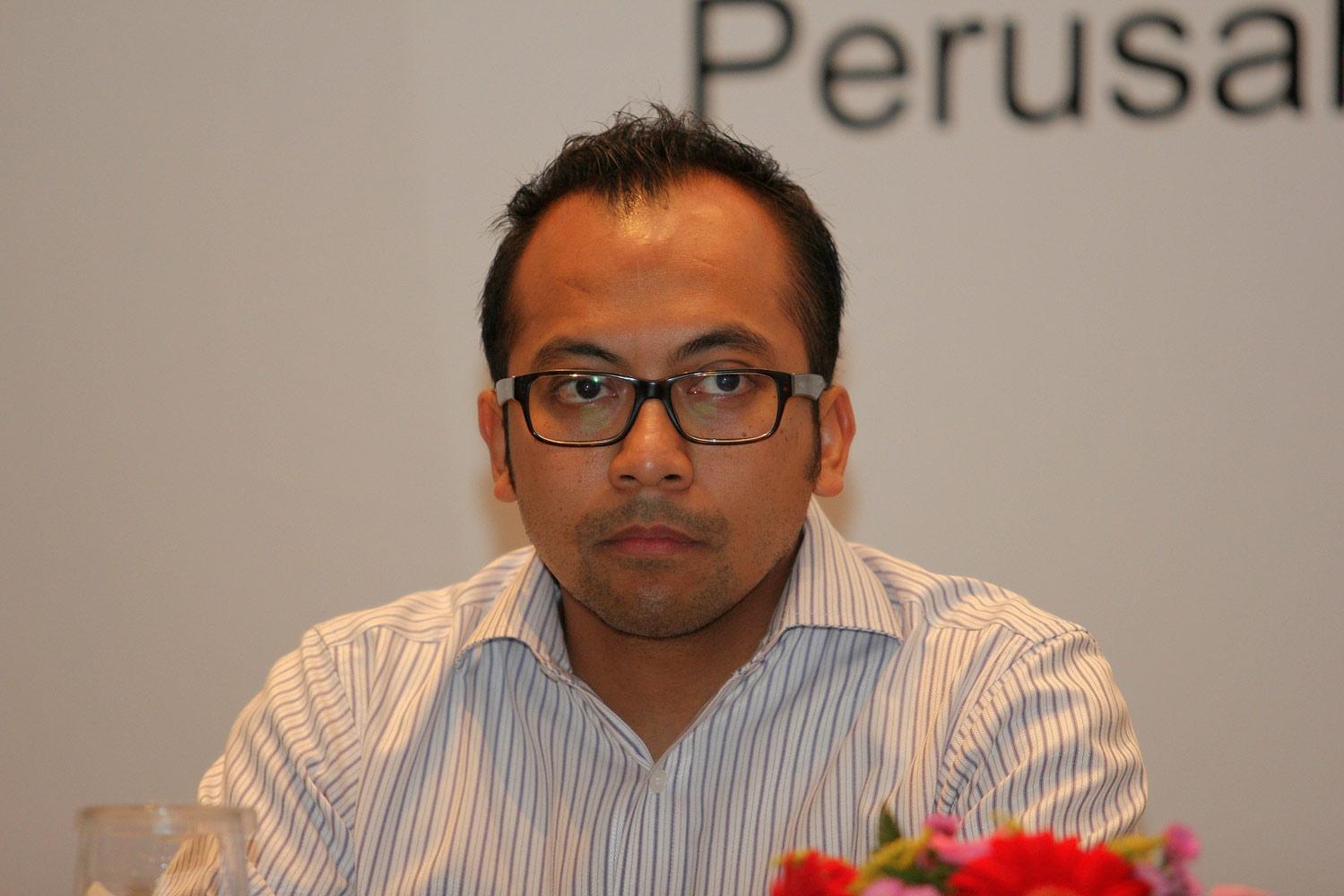 Direktur Keuangan PT Antam, Dimas Wikan Pramudhito Jakarta, (07/10).