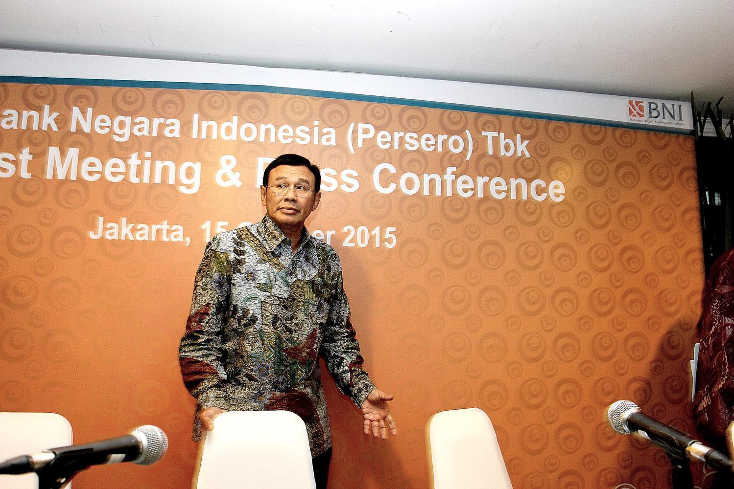 Direktur Utama Bank BNI, Ahmad Baiquni
