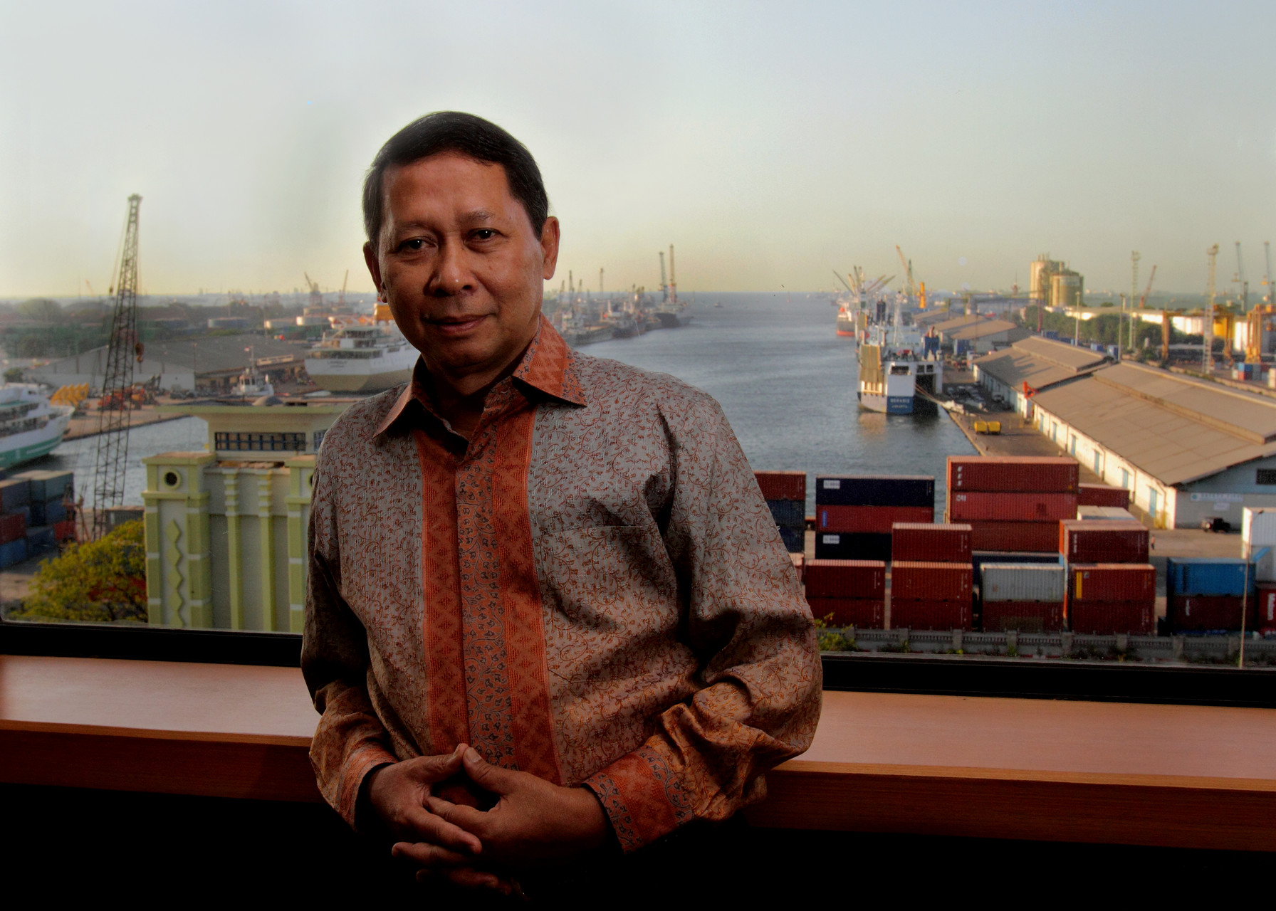 Direktur Utama PT Pelindo II RJ. Lino