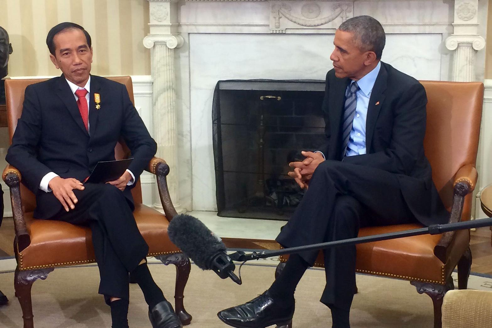 Joko Widodo & Obama