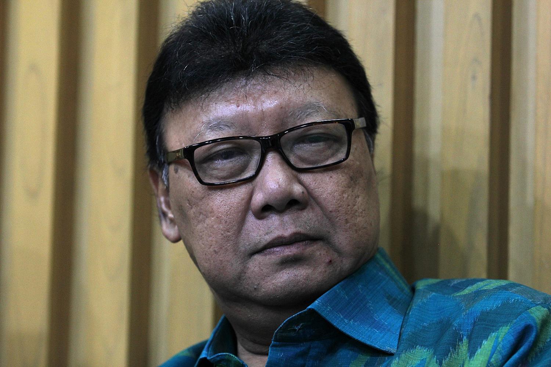 Menteri Dalam Negeri, Tjahyo Kumolo di Jakarta, (15/02)