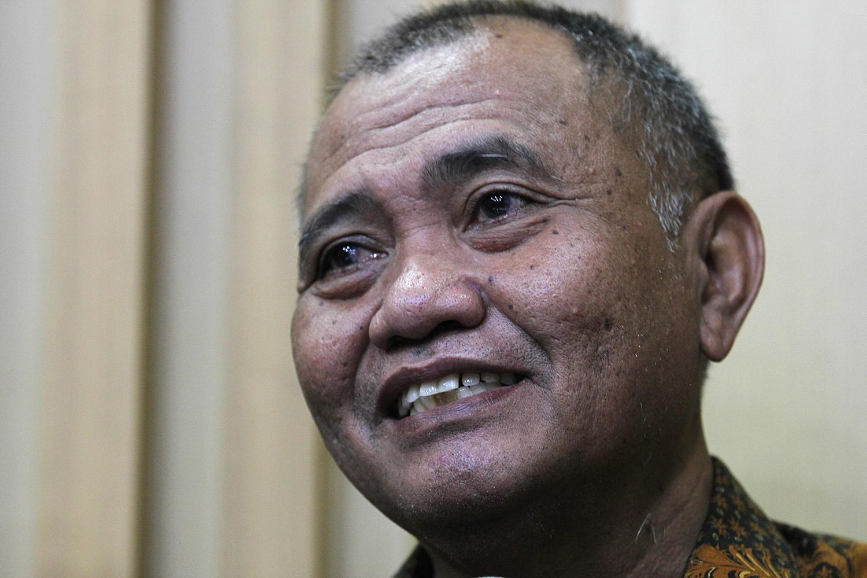 Ketua KPK, Agus Raharjo di Jakarta, Senin, (16/02)