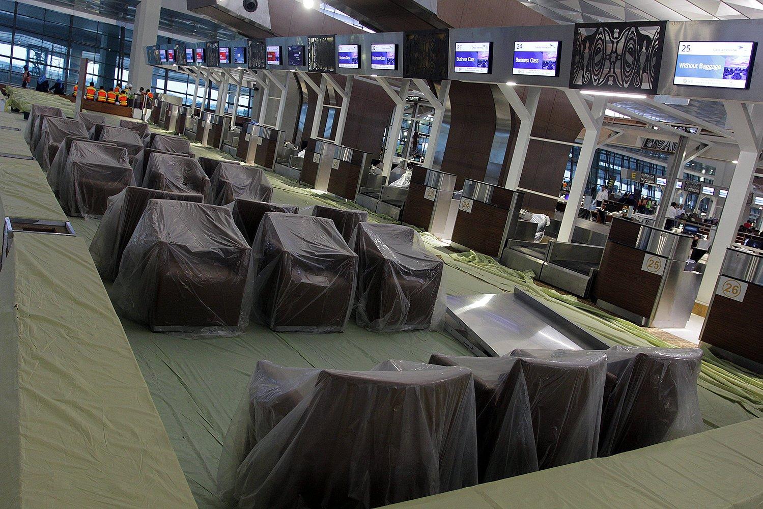 Terminal 3 Ultimate mampu menampung hingga 25 juta penumpang per tahun. dengan panjang bangunan mencapai 1,2 kilometer.