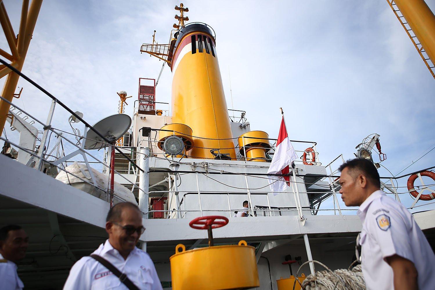 Kapal ini beroperasi dengan frekuensi kedatangan setiap 14 hari atau dua kali dalam sebulan, melalui jalur Jakarta - Natuna - Tarempa - Jakarta.