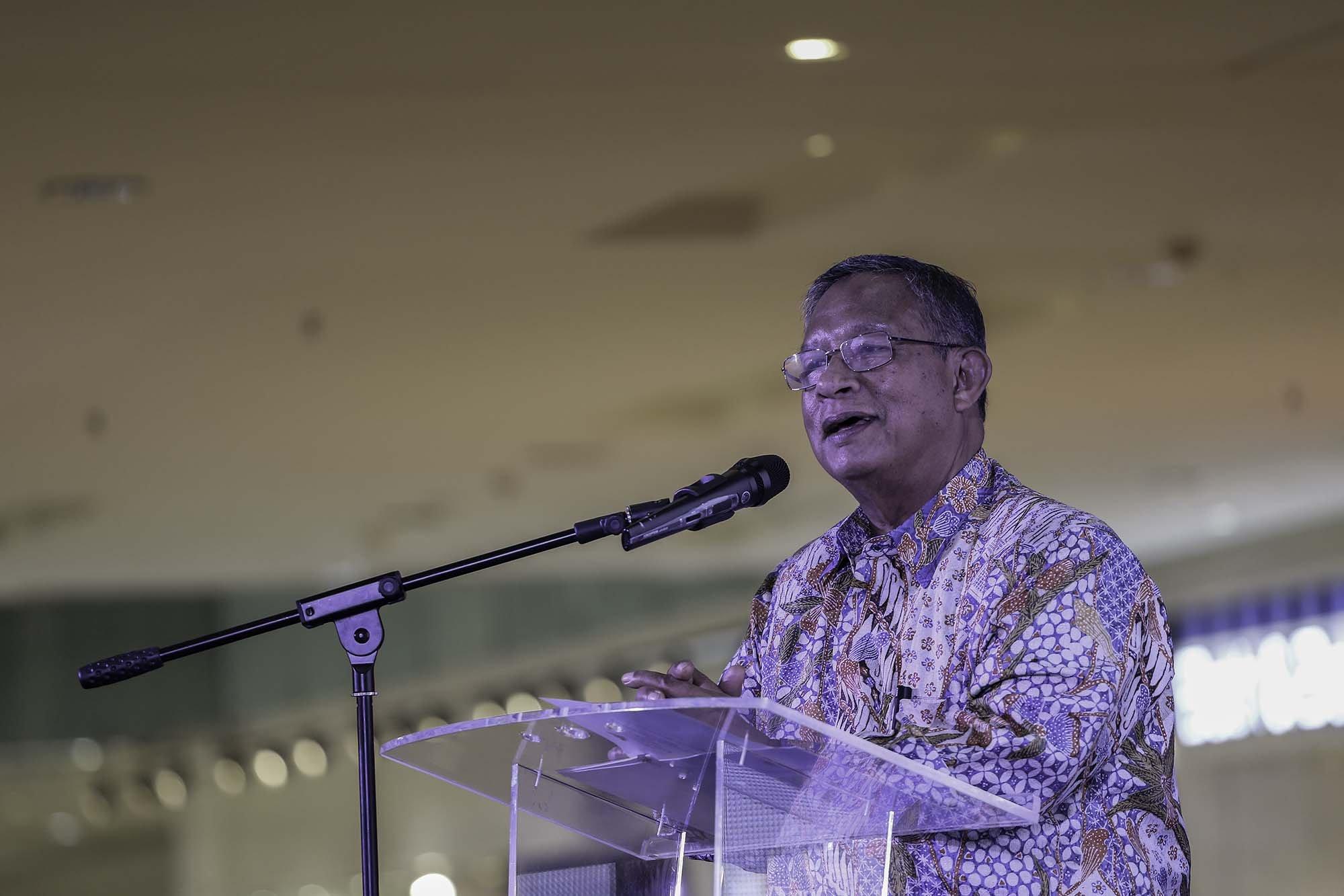 Menteri Koordinator Bidang Perekonomian Darmin Nasution.