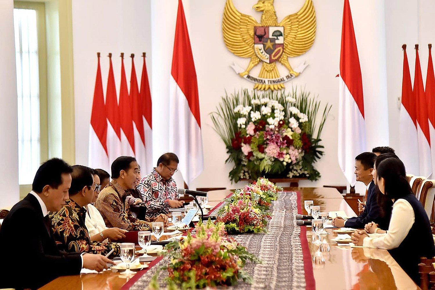 Jack Ma saat ini mempunyai peran sebagai penasihat bagi Steering Committee Peta Jalan E-commerce Indonesia.