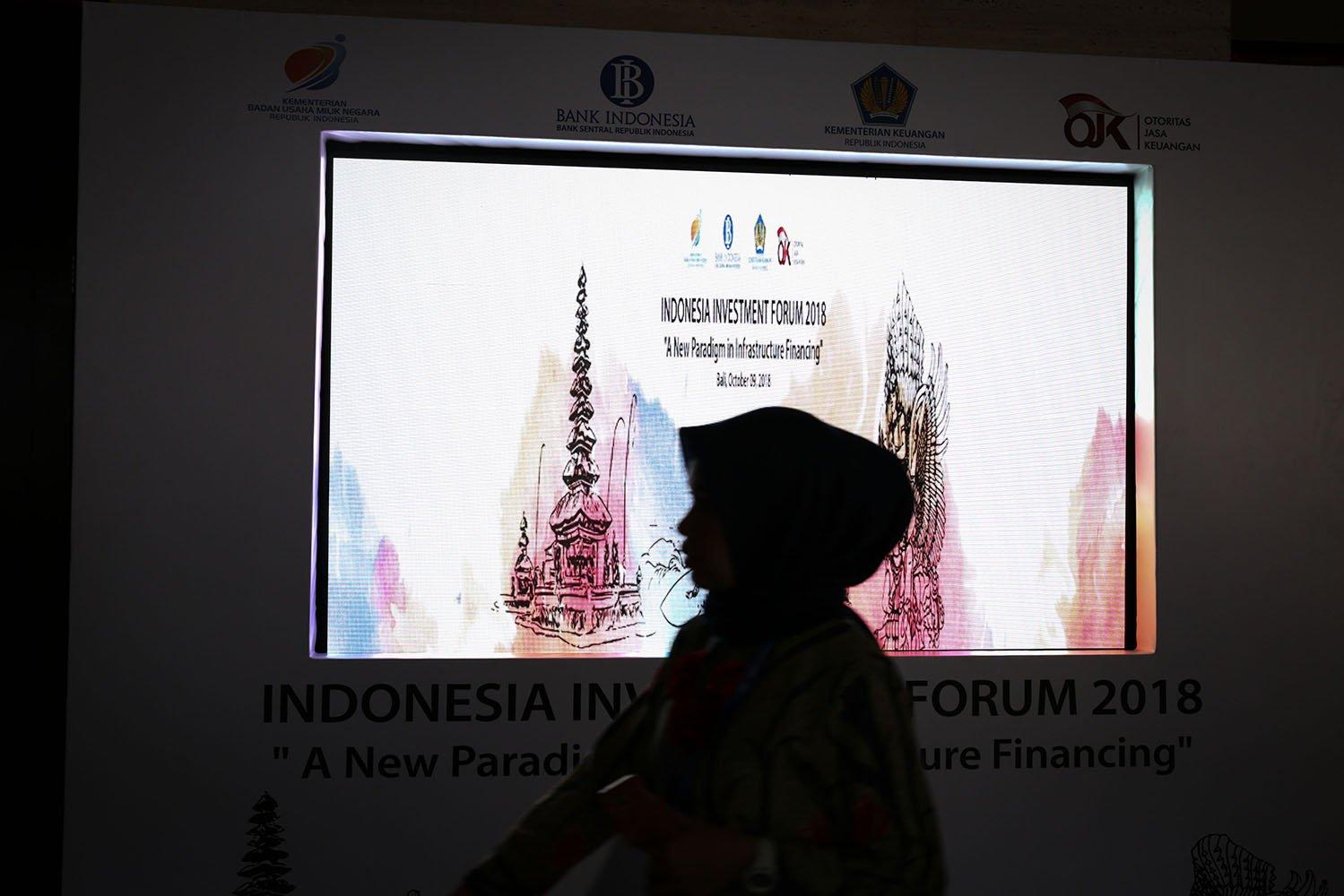 Indonesia memperjuangkan tema prioritas di bidang keuangan dalam pertemuan IMF-World Bank, mengenai ekonomi dan keuangan syariah. Kesempatan ini digunakan untuk menunjukkan kepada dunia internasional mengenai pencapaian dan potensi besar yang dimiiki Indonesia dalam bidang tersebut.
