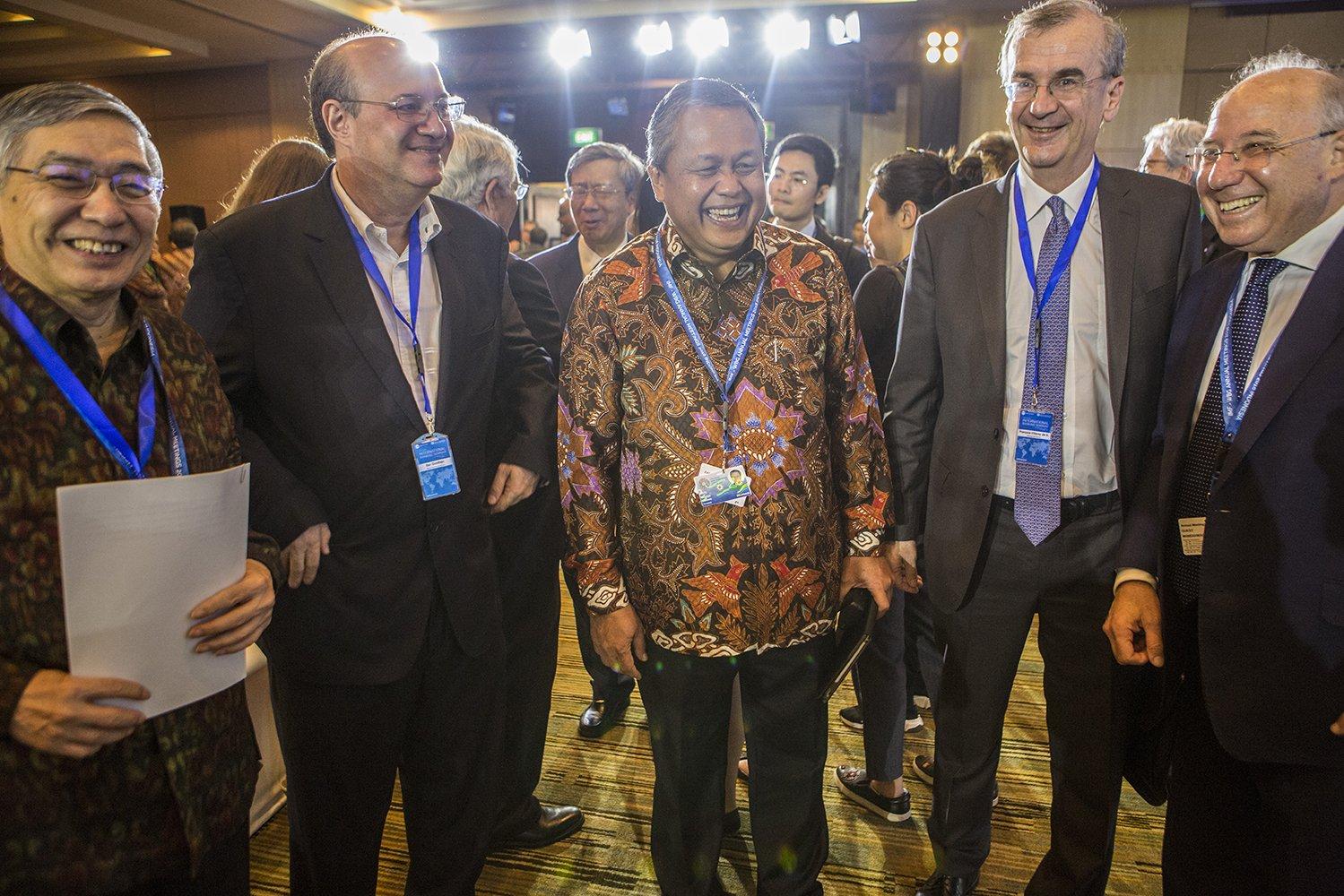 Gubernur Bank Indonesia, Perry Warjiyo, menyatakan bahwa koordinasi yang kuat dalam kepanitiaan telah menjadi kunci sukses pelaksanaan kegiatan. Pertermuan Tahunan IMF-Bank Dunia 2018 telah mampu menunjukkan Indonesia yang reformed, berdaya tahan, dan progresif.