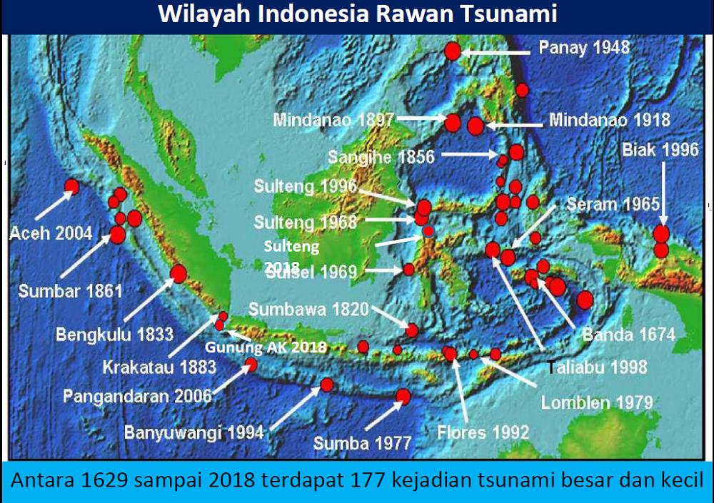 Indonesia Rawan Tsunami