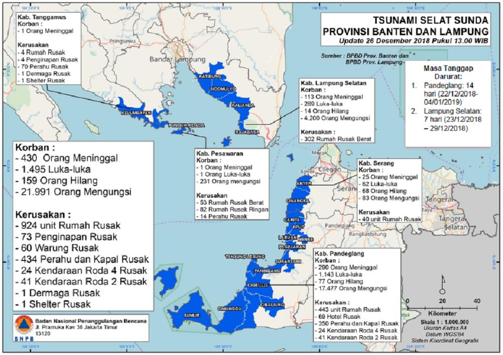 Tsunami Banten-Lampung