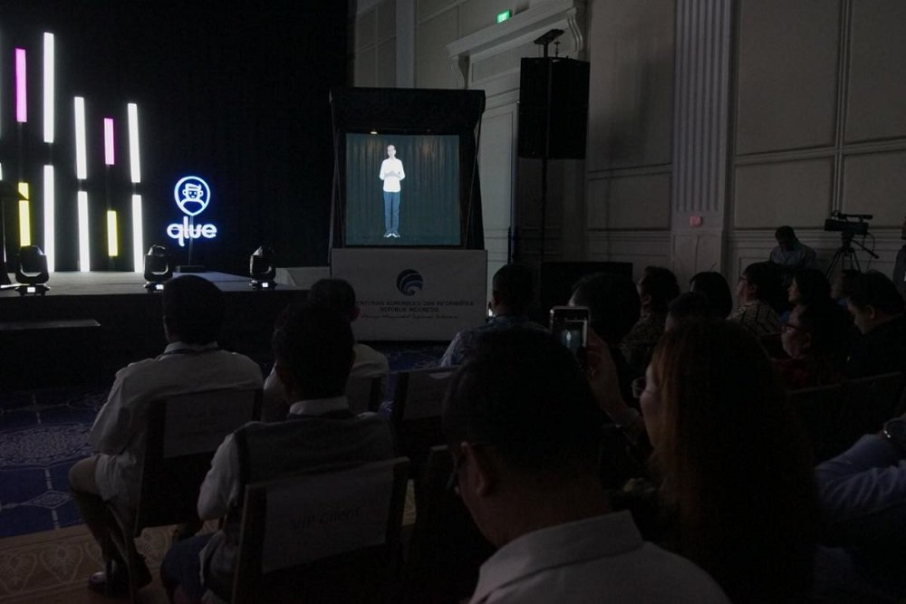 Hologram Jokowi