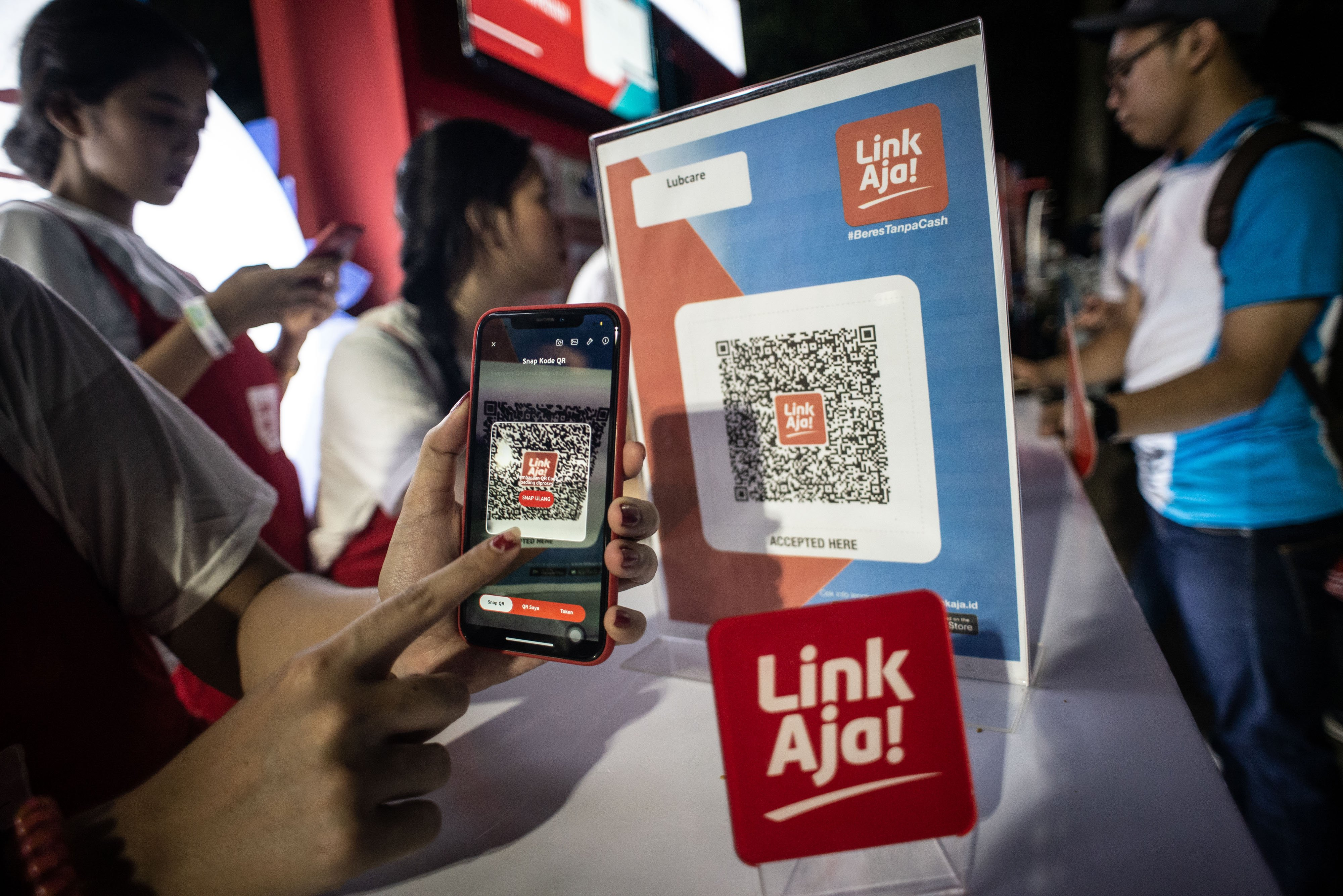 Potens LinkAja Menggoyang Dominasi Dompet Digital Go-Pay dan OVO