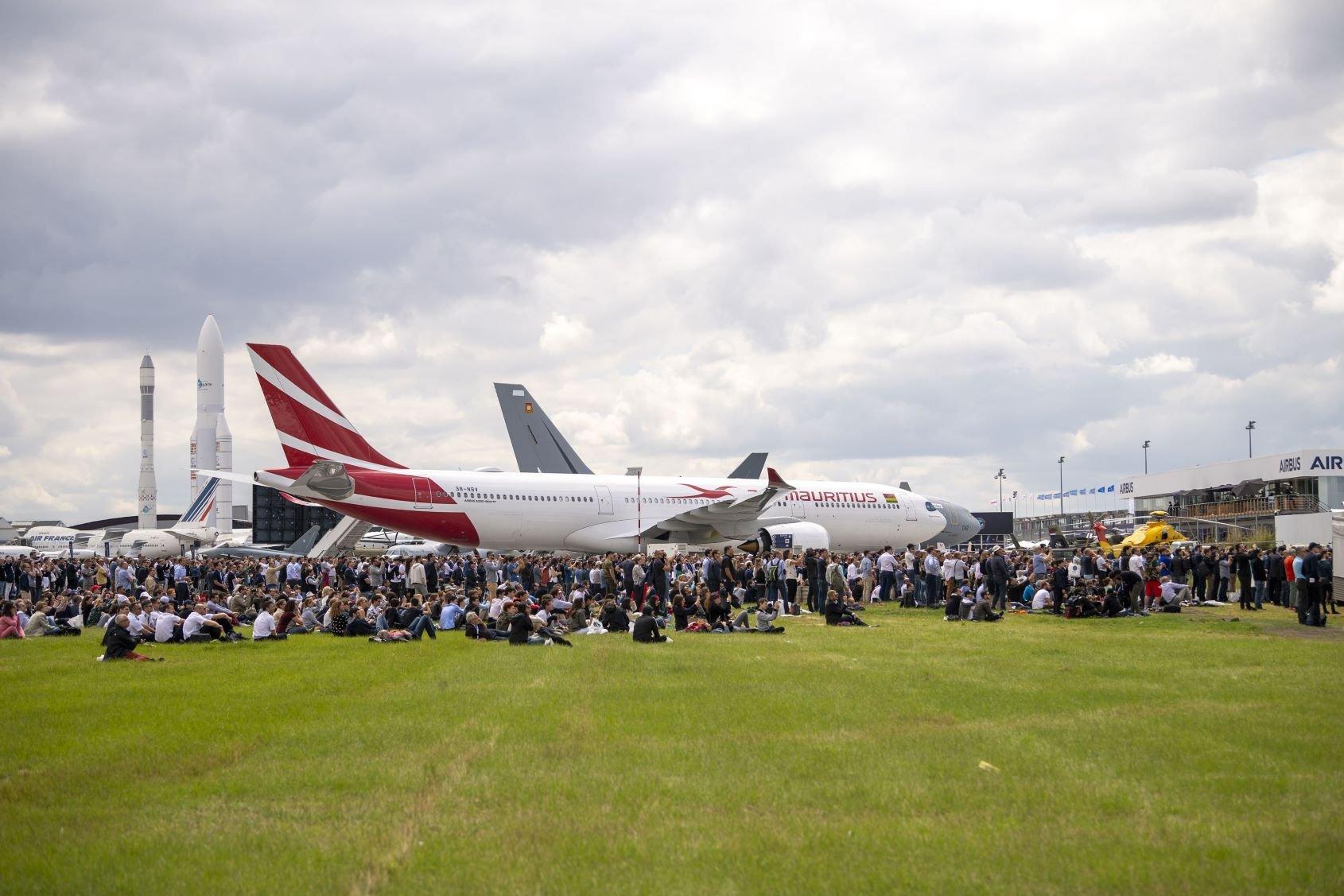 Pesawat baru Airbus di Paris Airshow 2019