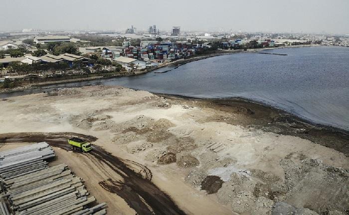 Area Pier 2 Pelabuhan KCN Marunda