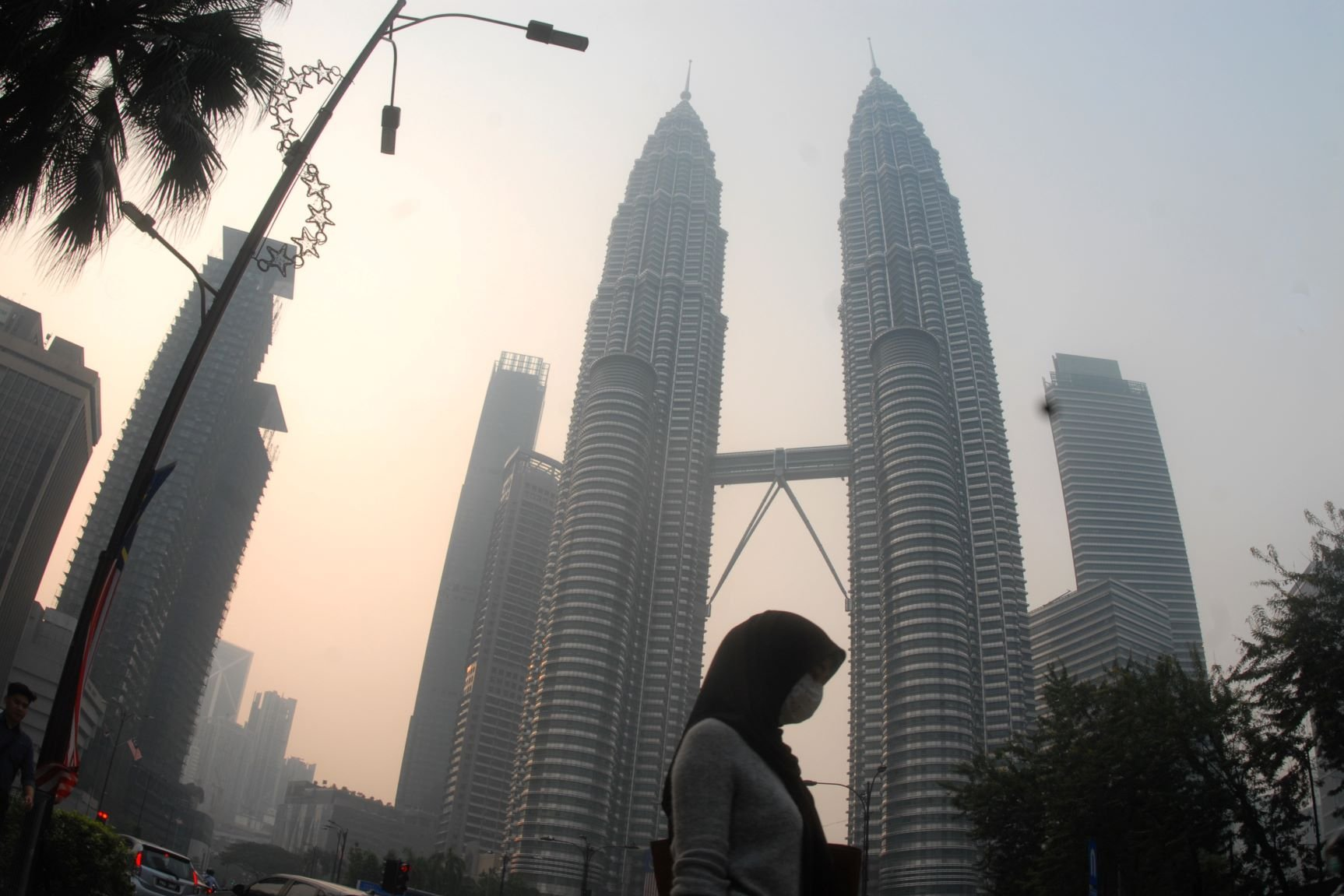Kabut Asap Karhutla di Kuala Lumpur