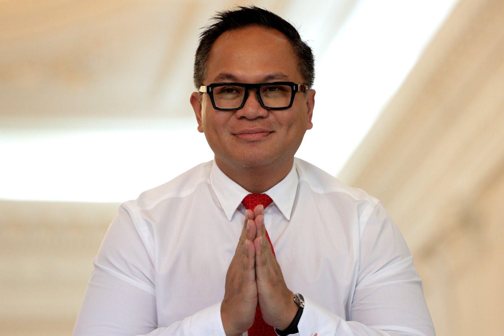 Wakil Menteri BUMN Kartika Wirjoatmodjo, usai bertemu Presiden Joko Widodo di Kompleks Istana Kepresidenan, Jakarta, Jumat (25/10/2019). Kartika yang menjabat Direktur Bank Mandiri ini, memiliki karier yang cemerlang di sektor keuangan. Kartika pernah menuntaskan divestasi Bank Mutiara ketika ia menjabat sebagai kepala eksekutif Lembaga Penjamin Simpanan (LPS) pada 2014.