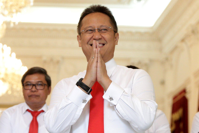 Wakil Menteri BUMN, Budi Gunadi Sadikin di Istana Merdeka, Jakarta Pusat (25/10/2019). Direktur Utama Inalum ini pernah menjabat sebagai Direktur Bank Mandiri selama 2 periode dan staf khusus Menteri BUMN.