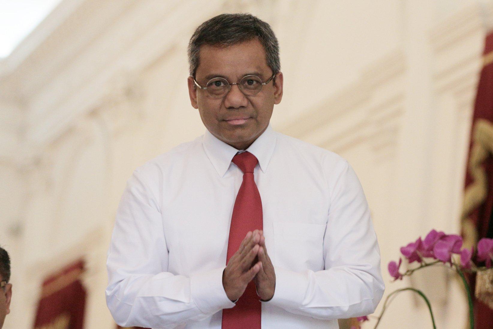 Wakil Menteri Keuangan, Suahasil Nazara di Istana Merdeka, Jakarta Pusat (25/10/2019). Mantan Kepala Badan Kebijakan Fiskal Kementerian Keuangan ini kembali bekerja sama dengan Sri Mulyani.