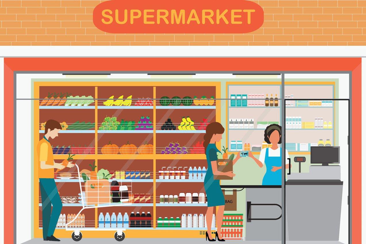 Ilustrasi bisnis makanan