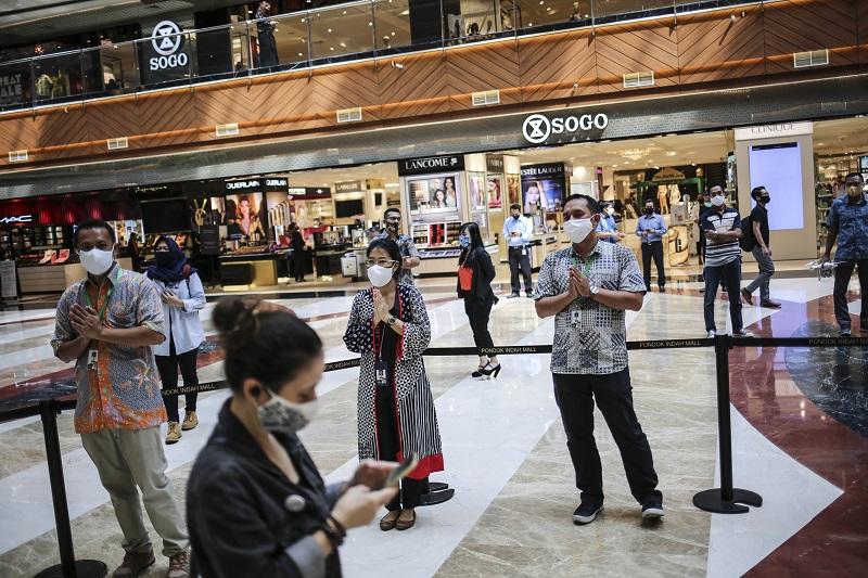 Pusat Perbelanjaan di Jakarta Kembali dibuka