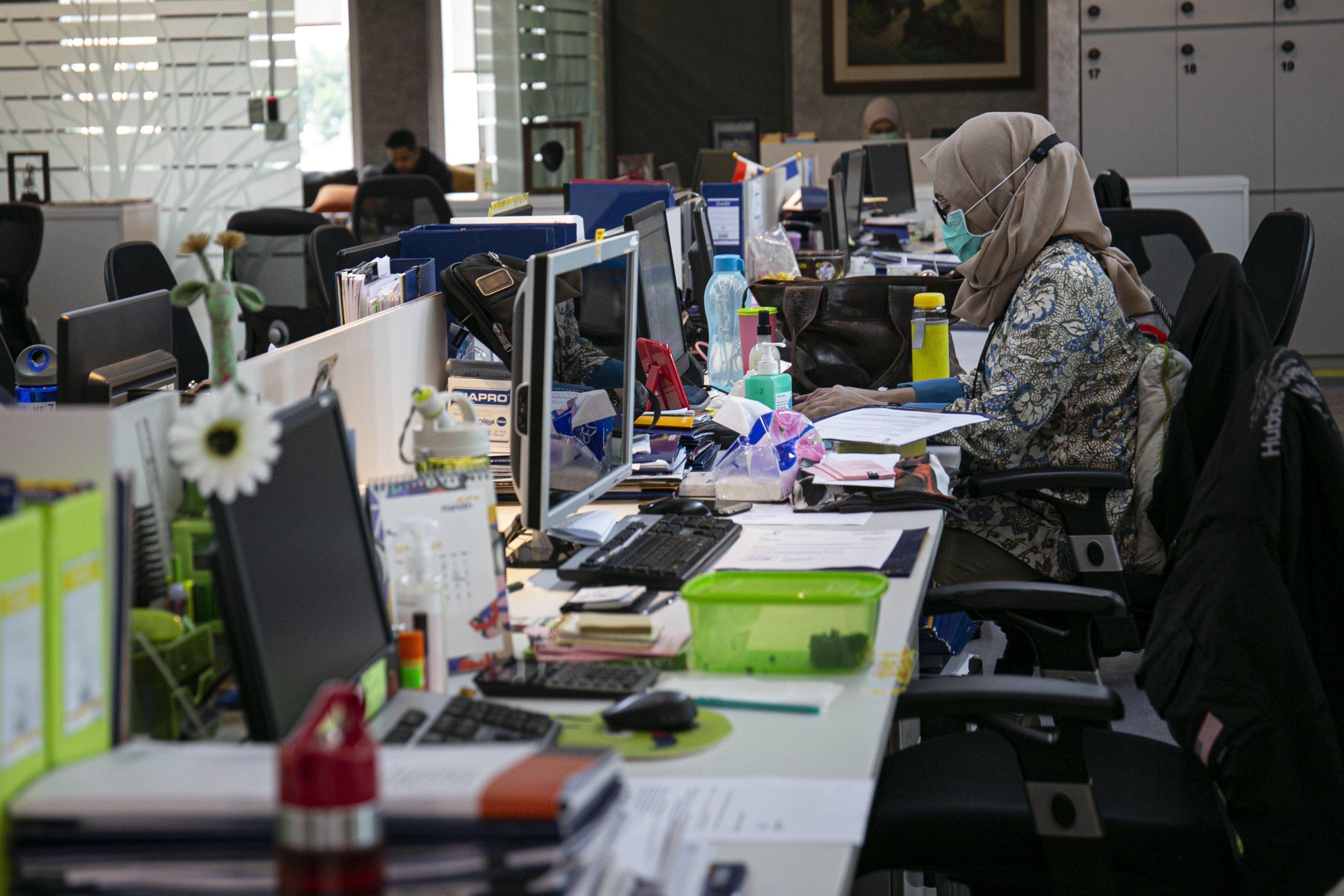Foto Psbb Ketat Mulai Berlaku Di Jakarta Foto Katadata Co Id