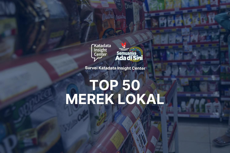 Top 50 Merek Lokal