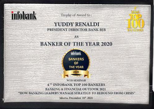 Penghargaan dirut bank bjb