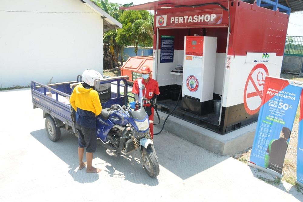 Pertashop di Tol Trans Jawa