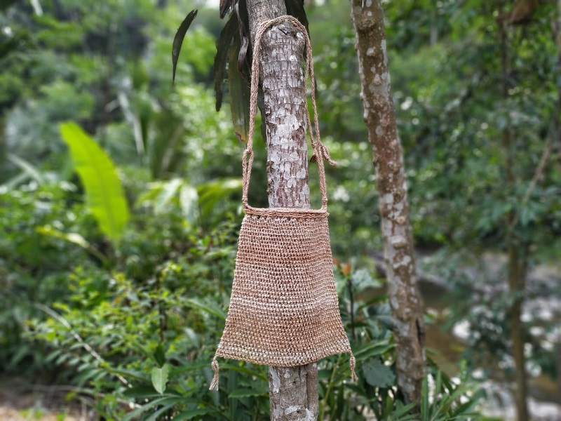 Tas Koja, salah satu kerajinan tangan masyarakat adat Baduy