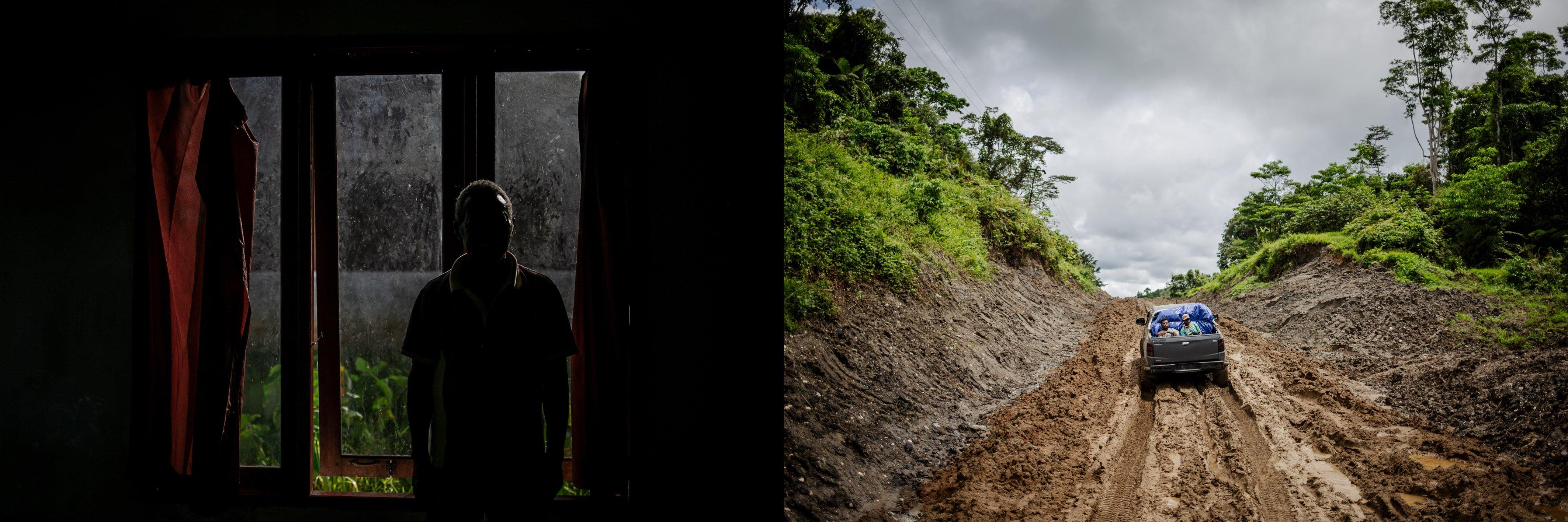 Barnabas Malalu (47) salah satu masyarakat adat Suku Moi di Ditsrik Waimon, Kabupaten Sorong, Papua Barat, Senin, (20/9/2021). Sebelumnya, selama enam tahun berulang kali pihak perusahaan mendatangi saya dan menawarkan perjanjian terkait perizinan lahan, sampai akhirnya saya selaku perwakilan Marga Malalu dan Marga Kasilit di Distrik Waimon menerima uang sebesar Rp. 150.000 untuk luas lahan sekitar 14.000 hetare. Semua saya terima karena iming-iming akan dibangunnya jalan untuk anak-anak sekolah dan diberik