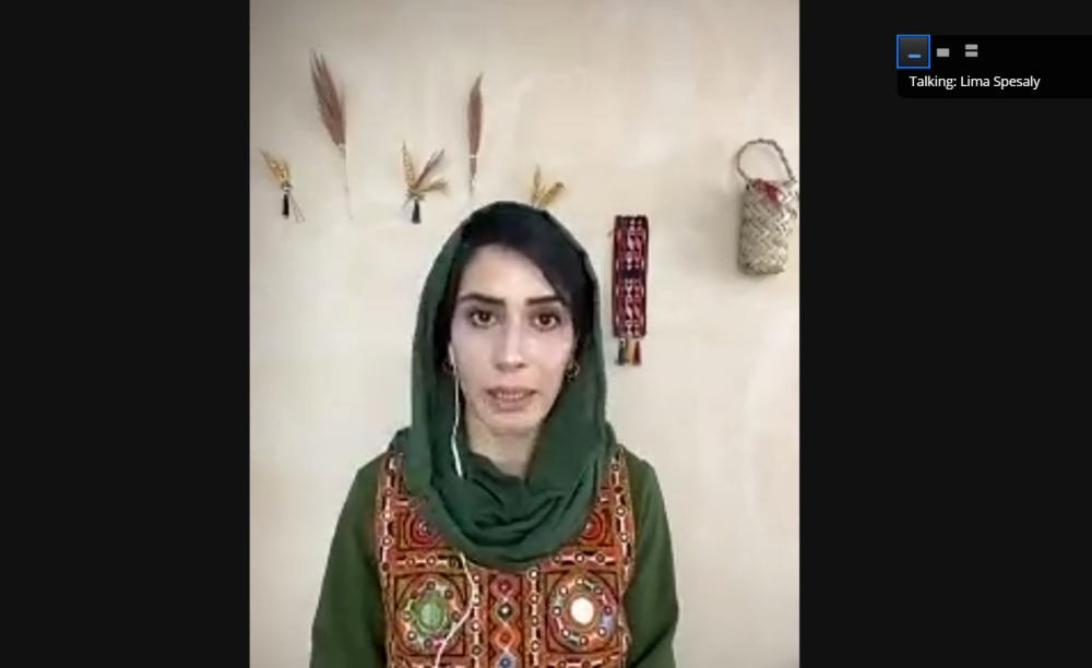Jurnalis Afganistan Lima Spesaly