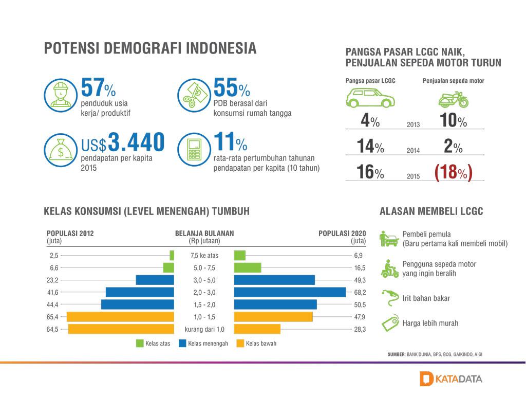 Potensi Demografi Indonesia