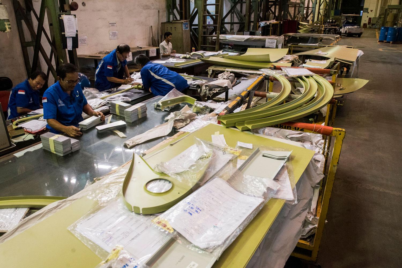 Pabrik Pesawat PT DI N219