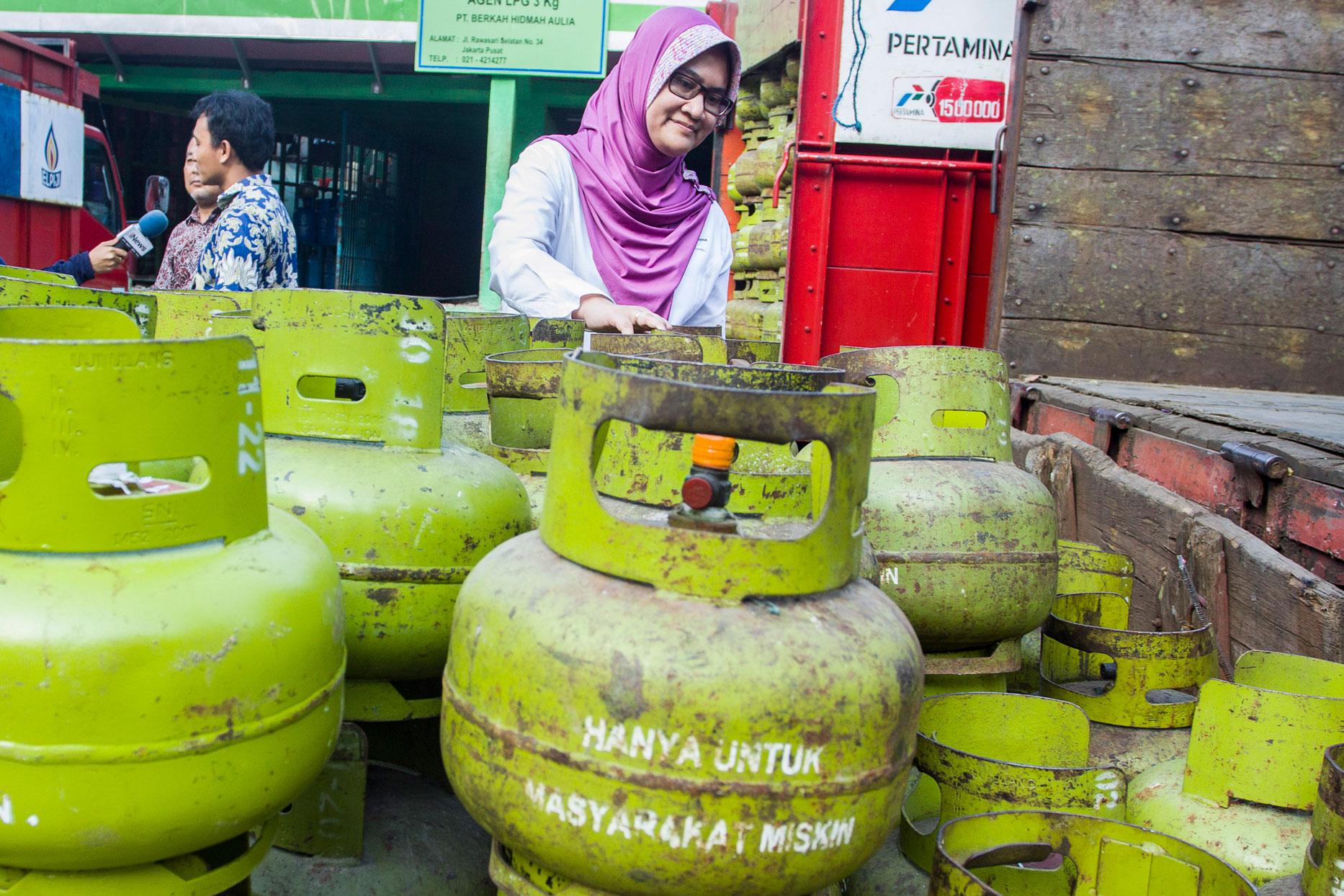 Gas Elpiji 3 kg Langka