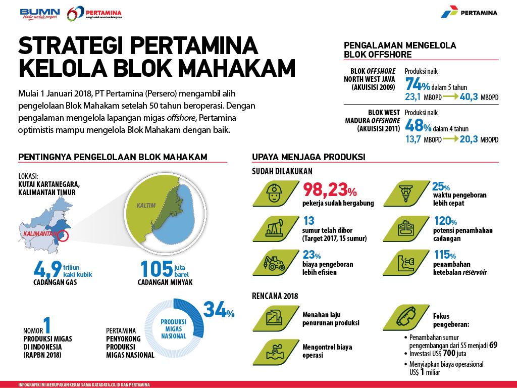 Strategi Pertamina Kelola Blok Mahakam