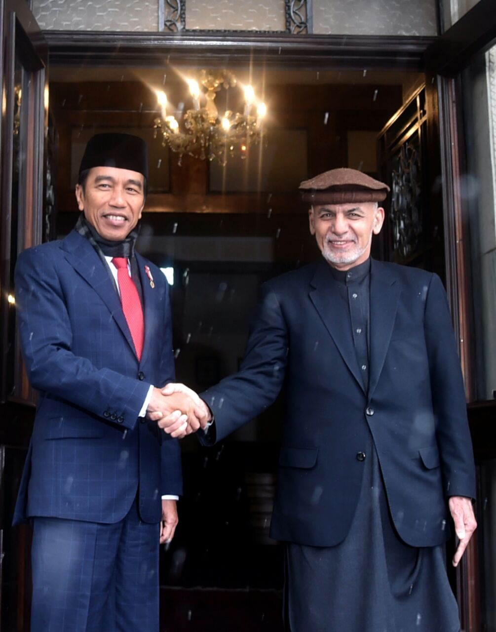Jokowi dan Presiden Afghanistan