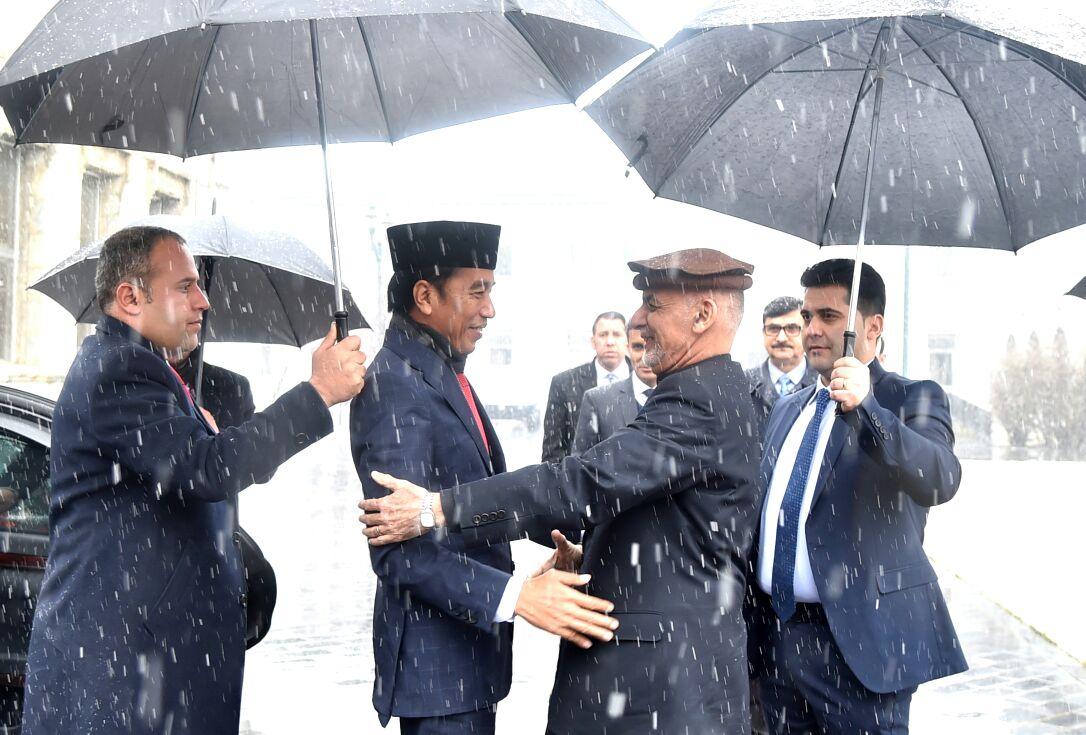 Jokowi dan Ashraf Ghani