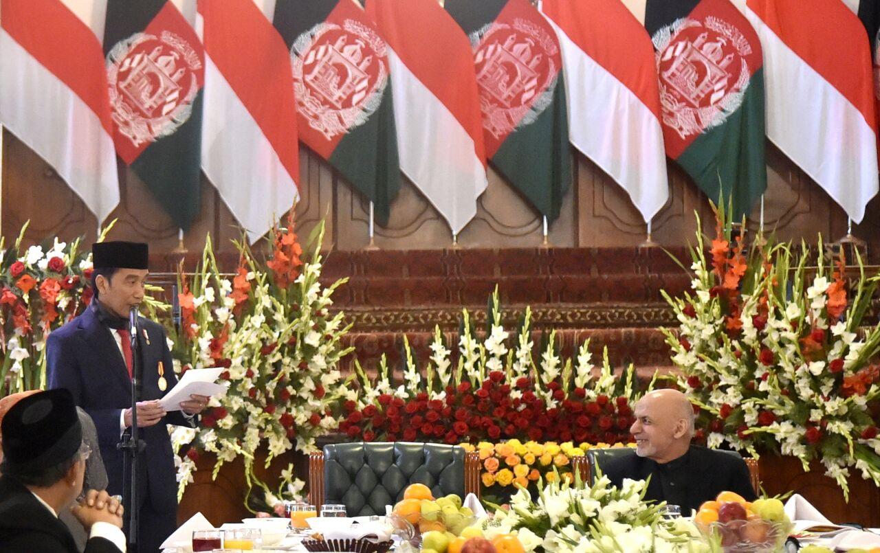 Jokowi di Afghanistan