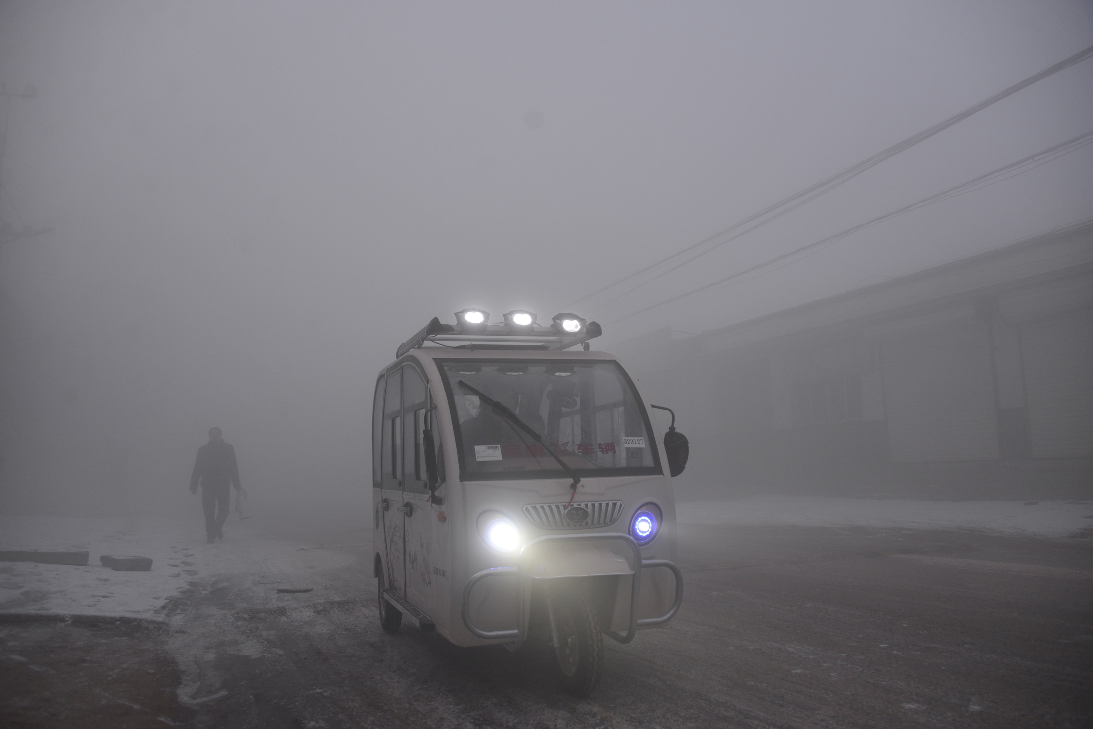 Polusi Udara di China, Tiongkok