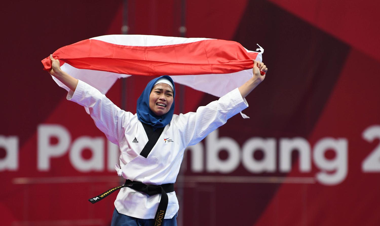 Atlet Indonesia Peraih Medali Emas Asian Games 2018, Rosmaniar Defia