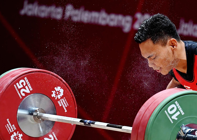 Atlet Indonesia Peraih Medali Emas Asian Games 2018, Eko Yuli Irawan
