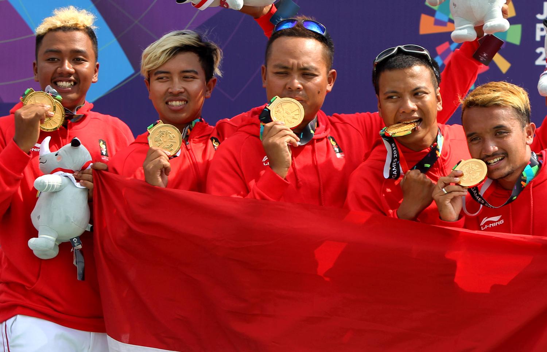 Atlet Indonesia Peraih Medali Emas Asian Games 2018, Jafro Megawanto