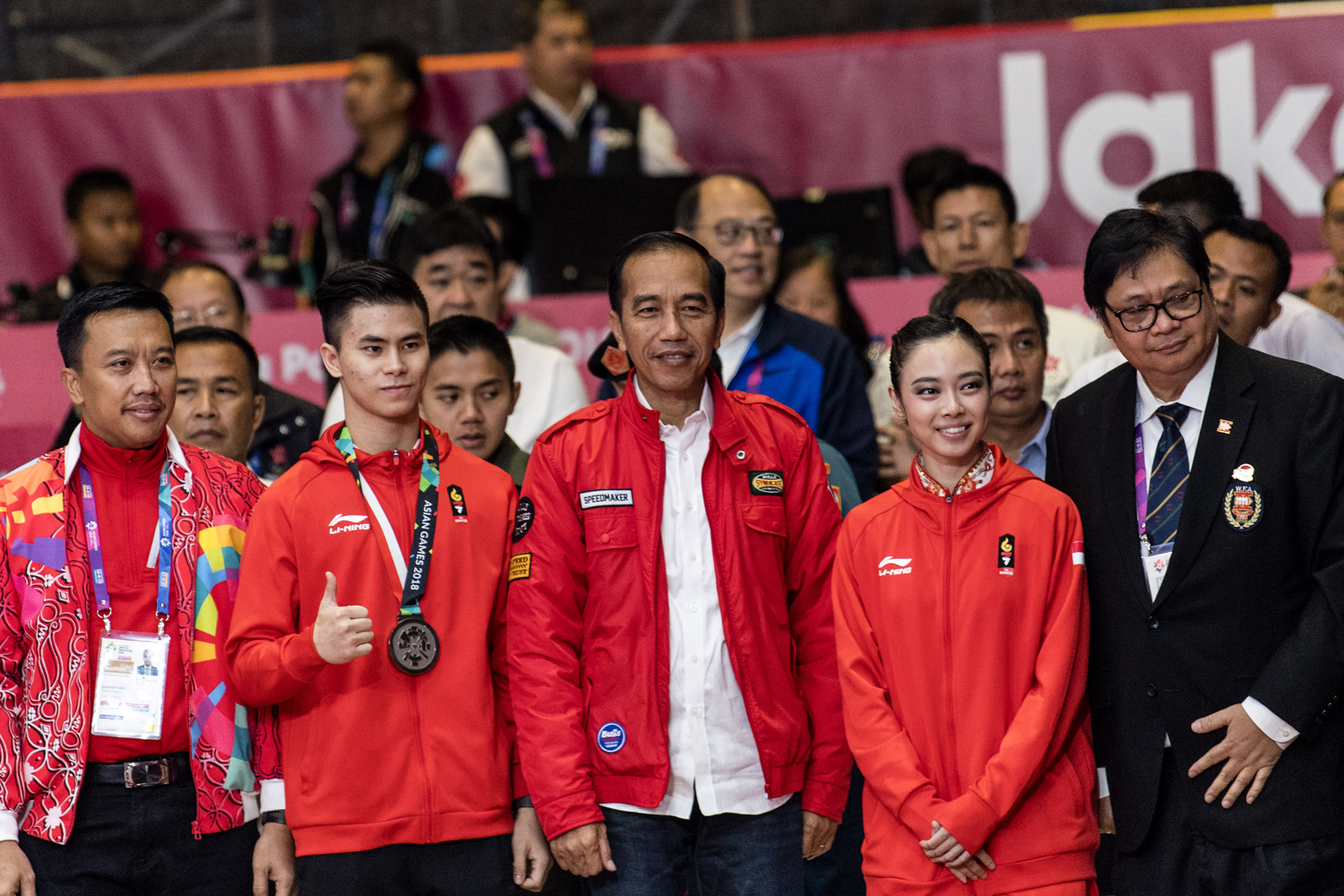 Atlit Indonesia Peraih Medali Emas Asian Games 2018, Lindswell