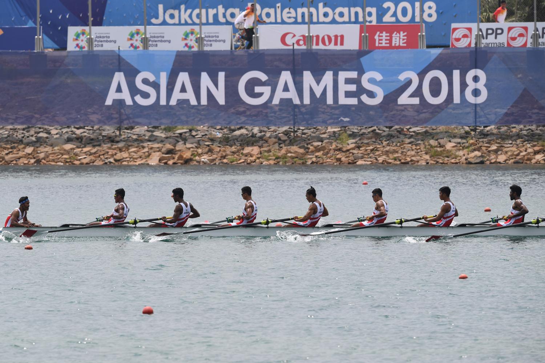 Atlet Indonesia Peraih Medali Emas Asian Games 2018, Dayung Putra