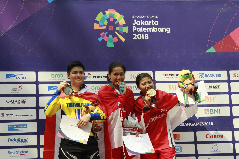 Atlet Indonesia Peraih Medali Emas Asian Games 2018, Tiara Andini Prastika
