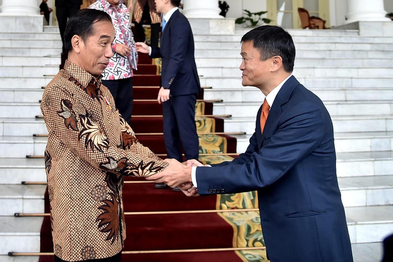 Jokowi jack ma